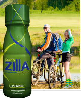 Green Zilla Energy Supplement | All Natural Ingredients | Nothing Synthetic